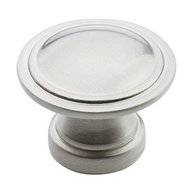 Allison Value 1-3/16 in (30 mm) Diameter Satin Nickel Cabinet Knob
