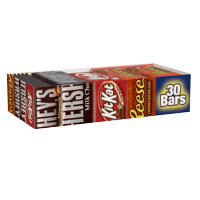 Hershey's, Full Size Chocolate Candy Bars Variety Pack, 30 Ct.