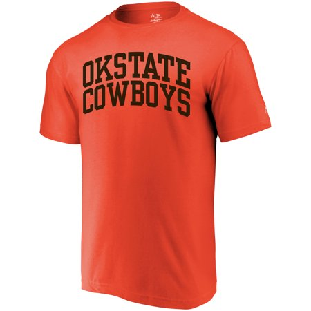 Oklahoma State Cowboys Alta Gracia (Fair Trade) Arched Wordmark T-Shirt - Orange