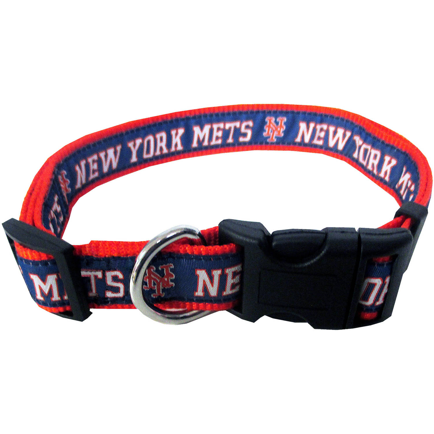 Pets First MLB New York Mets Pet Collar