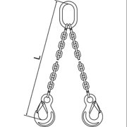 PEWAG Chain Sling,G63,DOS,Stainless Stl,5 ft  5G50DOS/5