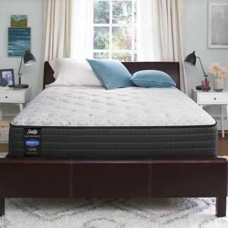 """Sealy Response Performance 12"""" Cushion Firm Tight Top Mattress - In Home White-Glove Delivery Included"""