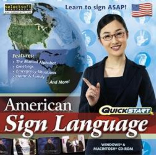 SelectSoft QuickStart: American Sign Language (Windows) (Digital Code)