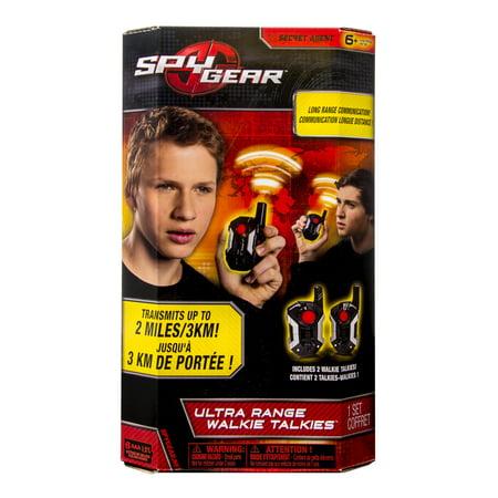 - Spy Gear - Ultra Range Walkie Talkie