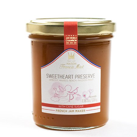 French Fruit Preserves by Maison Francis Miot - Sweet Heart (7.7 ounce)