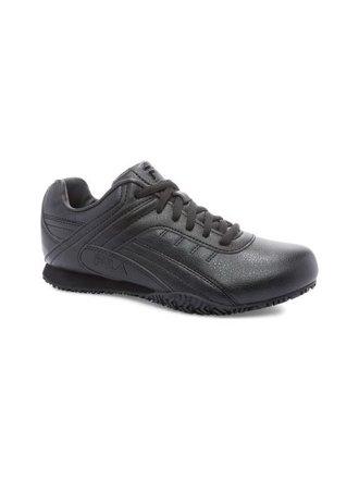 Fila GALVANIZED SR Womens Black Slip Resistant Slip On Shoes