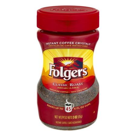 Folgers Instant Coffee Classic Roast  3 0 Oz