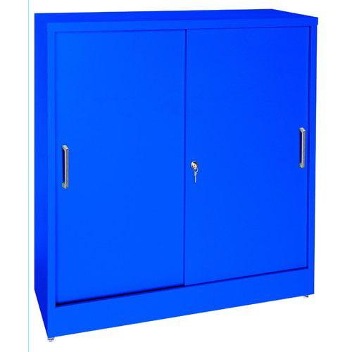 Sandusky Cabinets Sliding 2 Door Storage Cabinet