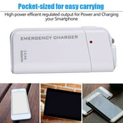 Universal USB Emergency Portable 2 AA Battery Power Charger for Mobile Phones