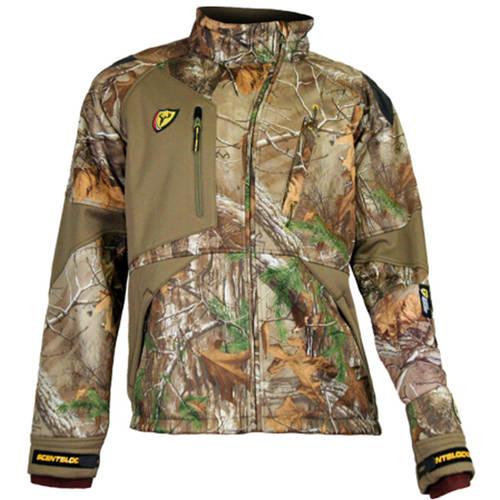 Men's Matrix Jacket with Windbrake Technology ScentBlocker, Mossy Oak Camo, Available in Multiple Sizes by Generic