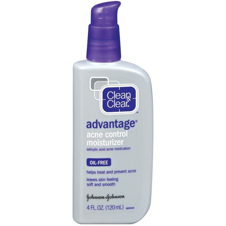 Clean   Clear Advantage Acne Control Moisturizer  4 Oz