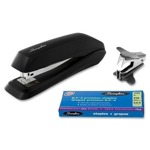 Swingline Standard Stapler Value Pack - 15 Sheets Capacity - Black (SWI54567)