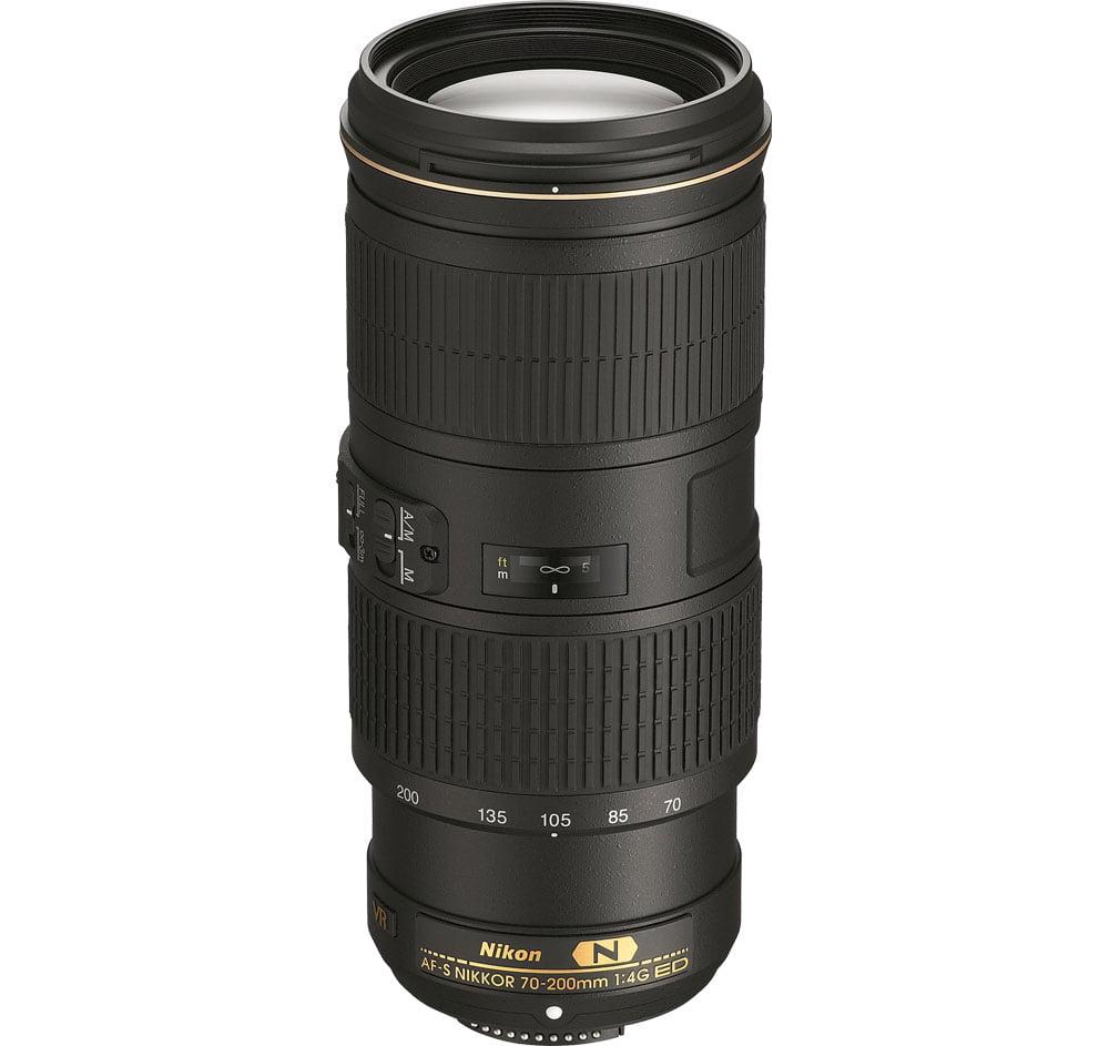 Nikon AF-S NIKKOR 70-200mm f 4G ED VR Telephoto Zoom Lens by Nikon