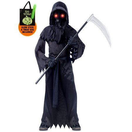 Costume Supercenter Llc (Boy's Fade In and Out Phantom Costume Treat Safety)