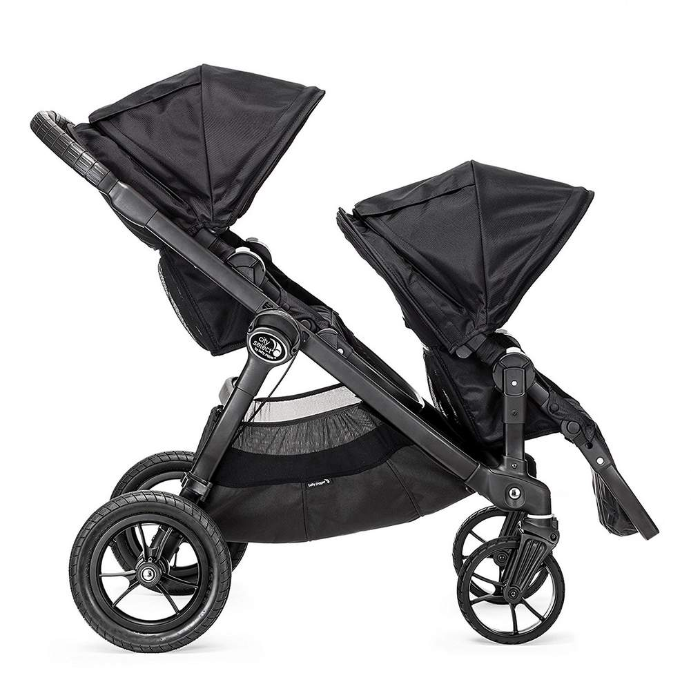 Baby Jogger City Select Second Seat Black W Black Frame