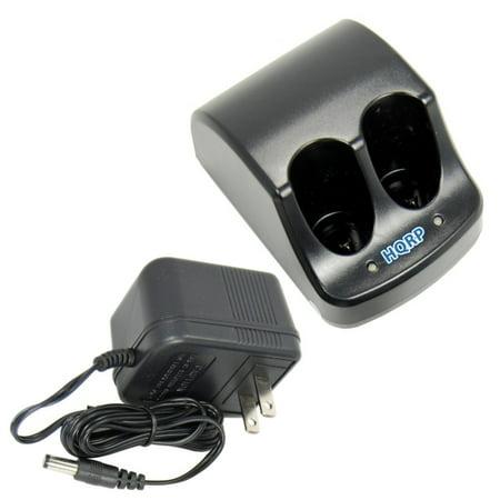 HQRP Dual Battery Charger for Black & Decker 3.6V Versapak 151995-03 387854-00 383900-03 387854-00 11233 Type 1 Power Tools + HQRP Coaster