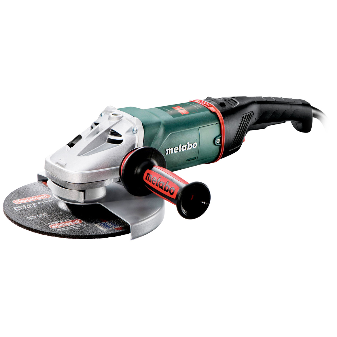 Metabo 606467420 15-Amp 6,600 RPM Corded Angle Grinder with Deadman/Lock-Off