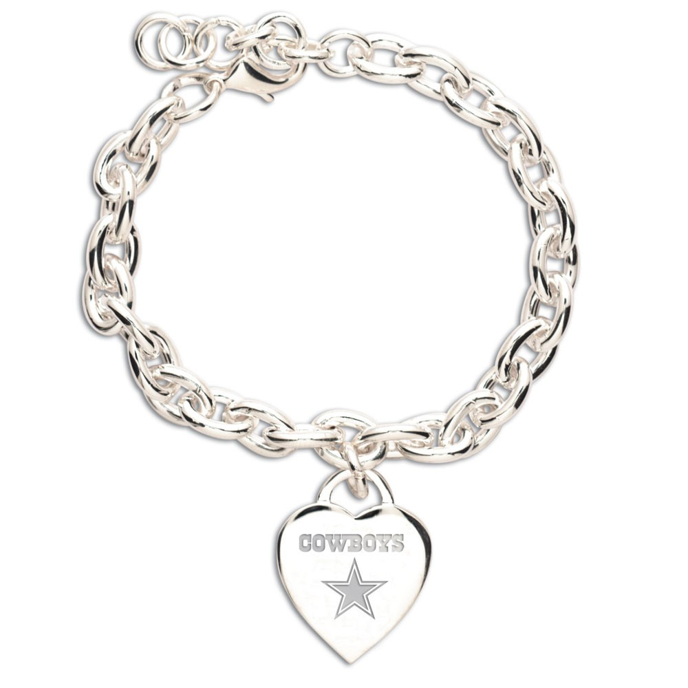 Dallas Cowboys Official NFL 7 inch  Charm Bracelet by Wincraft