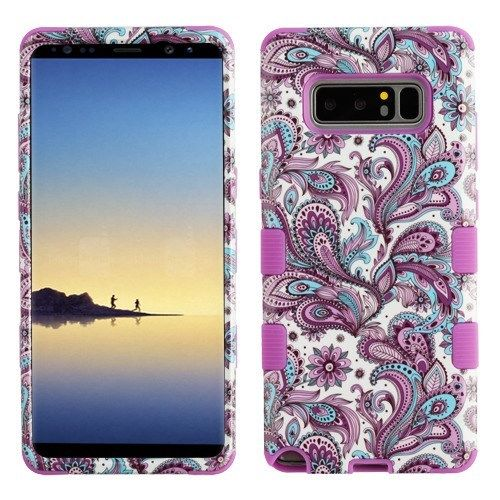 For Samsung Galaxy Note 8 IMPACT TUFF Hybrid Phone Case Cover + Screen Guard