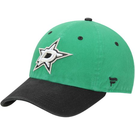 Dallas Stars Fanatics Branded Iconic Fundamental Adjustable Hat - Kelly Green/Black - OSFA Dallas Stars Hat