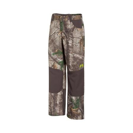1535a0ea585c0 Under Armour Boy's UA Storm Scent Control Field Pants, Realtree Camo ...