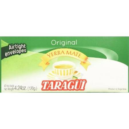 - Taragui Yerba Mate - 40 Tea Bags - Yerba Mate En Saquitos