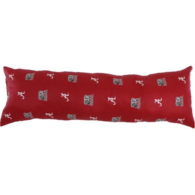 20 x 60 in. Alabama Crimson Tide Printed Body Pillow