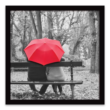 Red Umbrella Canvas Wall Art - 20 x 20 in. ()