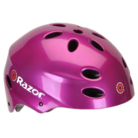 Razor Youth, Multi-Sport Helmet, Magenta, For Ages 8-14