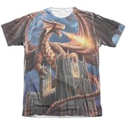 Anne Stokes Dragon's Fury Mens Sublimation Shirt