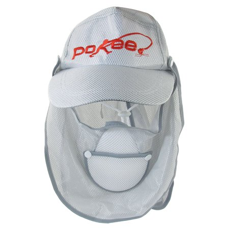 Fishing golf adjustable strap light gray mesh sun visor for Mesh fishing hats