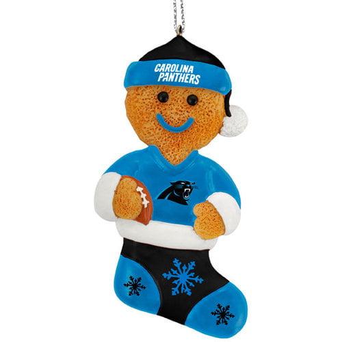 NFL - Carolina Panthers Resin Gingerbread Man Ornament