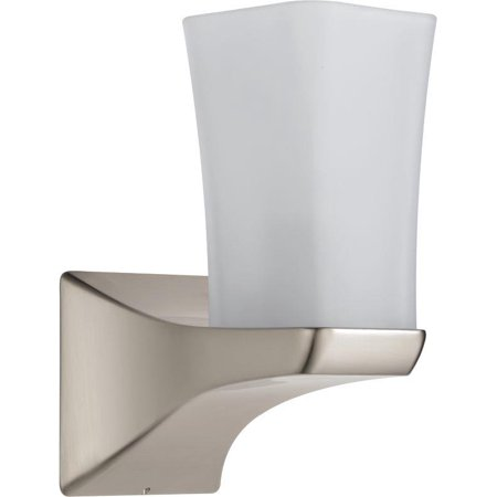 Delta 75270-SS Tesla Single Light Sconce In Stainless Steel