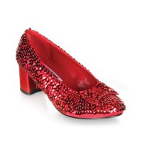 Dorothy-01 Women S Red Sequins Dorothy Shoes Size 8