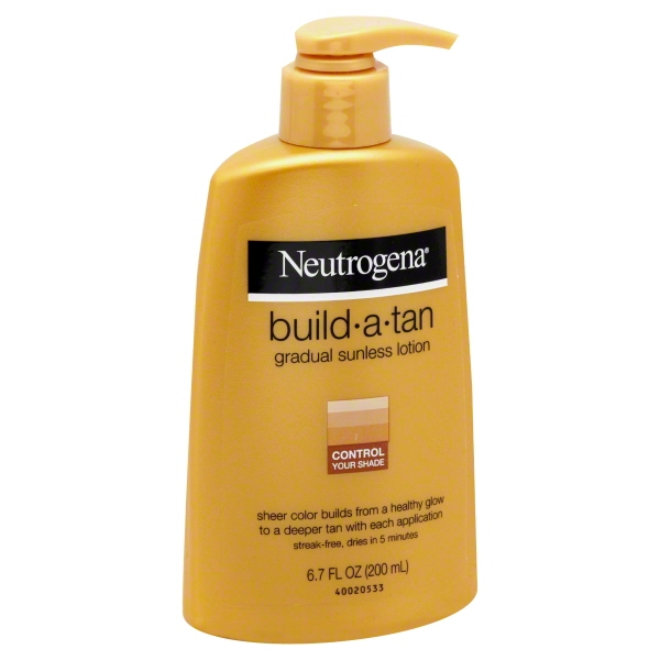 Neutrogena Build a Tan Gradual Sunless Tanning Lotion, 6.7 fl oz