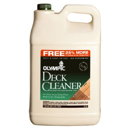2-1/2Gal Deck Cleaner, Pack of