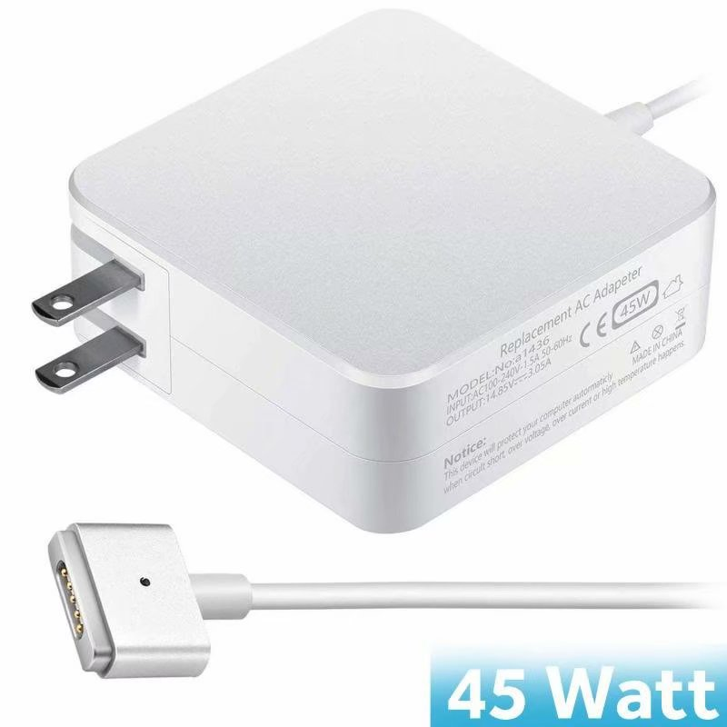2017 2018 Models A1465 A1466 Mid 2012 2014 2013 2015 NUOO Compatible With MacBook Air Charger,45W Magsafe 2 Power Adaper Charger Replacement With MacBook Air 11-inch 13-inch