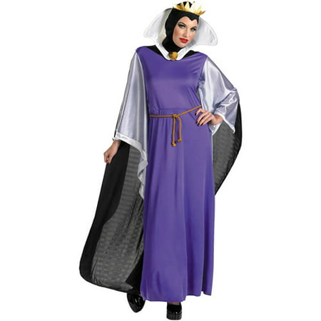 Evil Queen Adult Halloween Costume (The Queen Of Hearts Halloween Makeup)