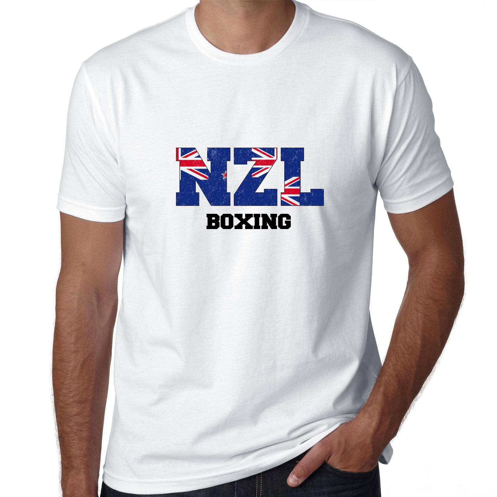 New zealand Boxing - Olympic Games - Rio - Flag Men's T-Shirt
