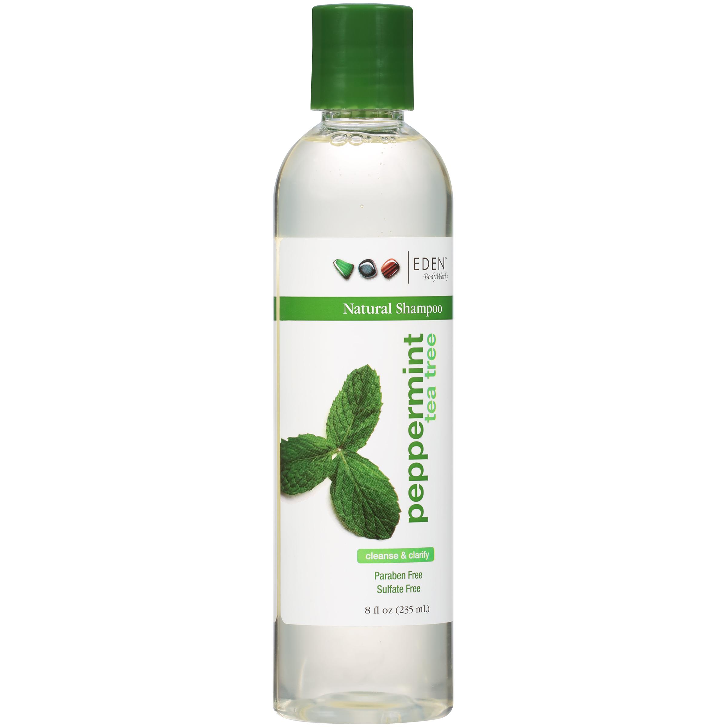 Tea tree and peppermint shampoo