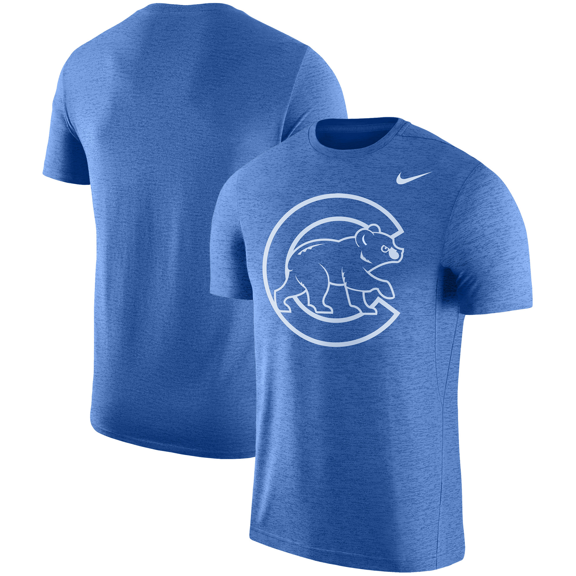 Chicago Cubs Nike Logo Touch Performance T-Shirt - Royal