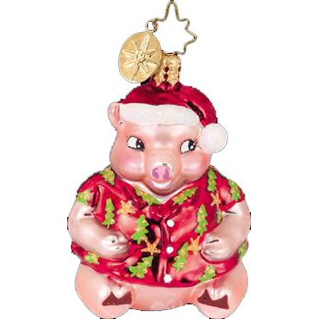 Christopher Radko 1010926 Holiday Hamlet Gem Glass Ornament - Retired Radko Halloween Ornaments