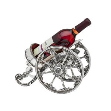 Silverplate Wine Bottle (Recollection Silver-Plated Wine Bottle Holder Cannon)