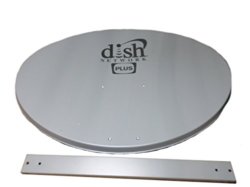dish network 500 plus reflector with feed arm model es183446 toroidal  reflector dish network 500 plus