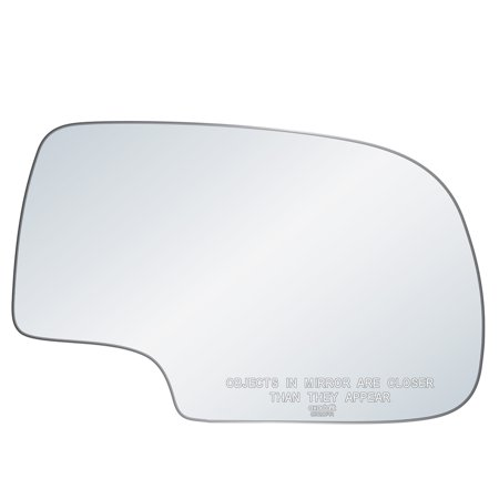 Exactafit 8720PR Passenger Right Side Mirror Glass Replacement Kit Fits Chevy GMC GM Silverado Tahoe Sierra Yukon 1500 2500 3500 HD 1999-2007