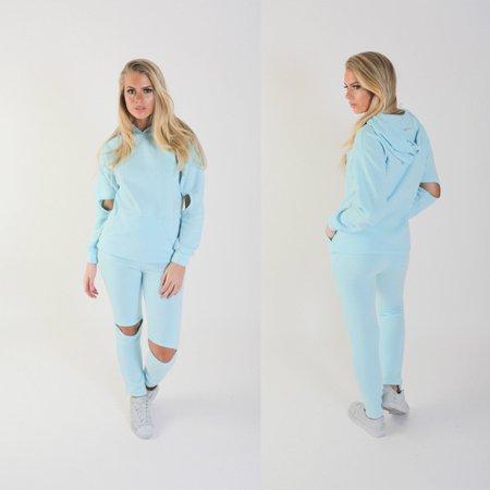 e64b1349000 UKAP - Womens Tracksuit Sport Hoodies Sweatshirt Crop Tops Pants 2Pcs Sweat  Suit - Walmart.com
