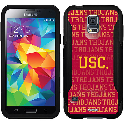 USC Repeating Design on OtterBox Commuter Series Case for Samsung Galaxy S5
