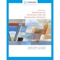 Essentials of Statistics for the Behavioral Sciences (Edition 10) (Paperback)
