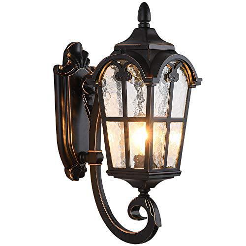 Lonedruid Outdoor Wall Light Fixtures, Wall Mount Outdoor Lighting
