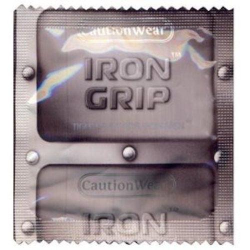 Caution Wear Iron Grip Snugger Fit: 36-Bulk Pack of Condoms